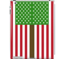 """ORGANIC US FLAG""  iPad Case/Skin"