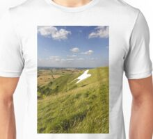 The Westbury White Horse, Wiltshire, UK Unisex T-Shirt