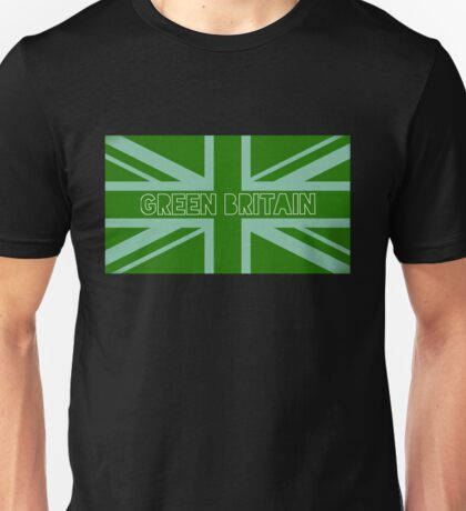 Green Britain, green flag Unisex T-Shirt