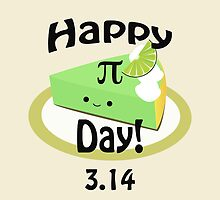 Cute Happy Pi Day! by Eggtooth