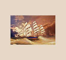 Cutty Sark in Heavy Seas Unisex T-Shirt