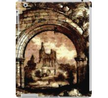 Byland Abbey, Yorkshire, England - all products iPad Case/Skin