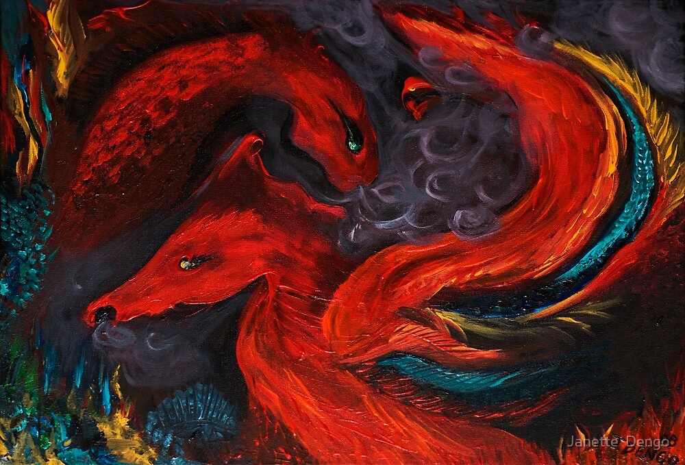 Compassionate Fury by Janette  Dengo