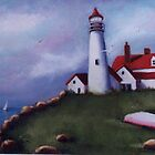 Lighthouse Bay by Cathy Amendola