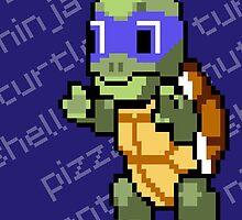 Squirtle Turtle - Leo by Vitalitee