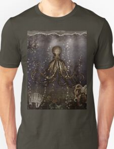 Octopus' lair - Old Photo Unisex T-Shirt