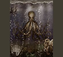 Octopus' lair - Old Photo Womens Fitted T-Shirt