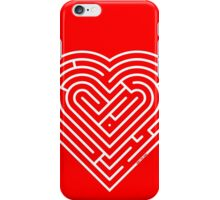 Labyrinth Heart iPhone Case/Skin