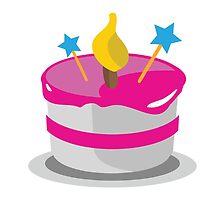 Birthday Cake EmojiOne Emoji by emoji
