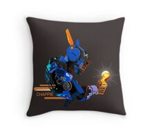 I am Chappie Throw Pillow