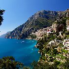 Positano View by Gyuri Nagy