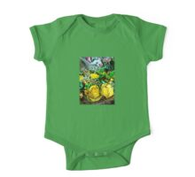 Bouquet of yellow roses One Piece - Short Sleeve