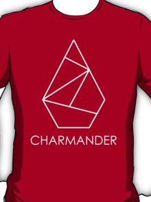 Charmander Logo Monotone T-Shirt