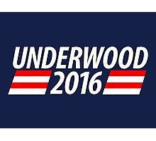 Underwood 2016 shirt campaign poster mug Photographic Print