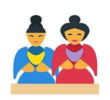 Japanese Dolls EmojiOne Emoji by emoji