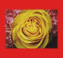 Yellow rose in bouquet 4 Kids Clothes