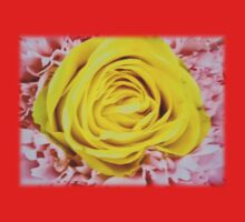Yellow rose in bouquet 6 Kids Clothes
