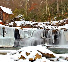 Frozen Grist Mill #2 by Jason Vickers