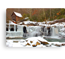 Frozen Grist Mill #2 Canvas Print