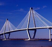Cooper River Bridge by Wendy Mogul