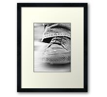 Step Lightly Framed Print