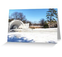 Snow day Greeting Card