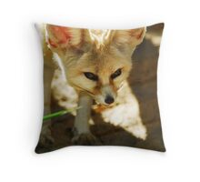 Honing In Throw Pillow