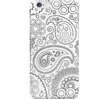 Clear As Paisley II iPhone Case/Skin