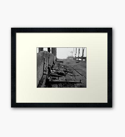 Decay Framed Print