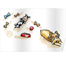 Yorkie Good Day Play Poster