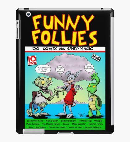 Funny Follies iPad Case/Skin