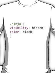 Ninja Hidden CSS Pun T-Shirt