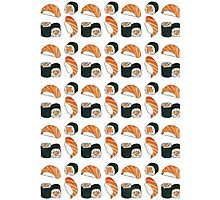 Salmon Sushi Photographic Print