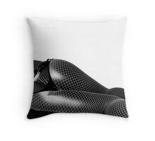 black shine1 Throw Pillow