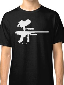 Paintball Marker Black Classic T-Shirt