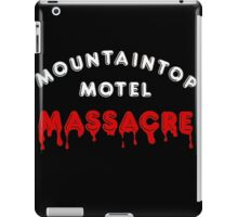 Mountaintop Motel Massacre (Main Title) iPad Case/Skin