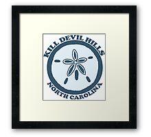 Kill Devil Hills - OBX. Framed Print