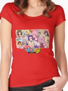 To Love-Ru Women's Fitted Scoop T-Shirt