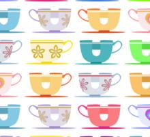 Disneyland TeaCups (Alternative Design) Sticker