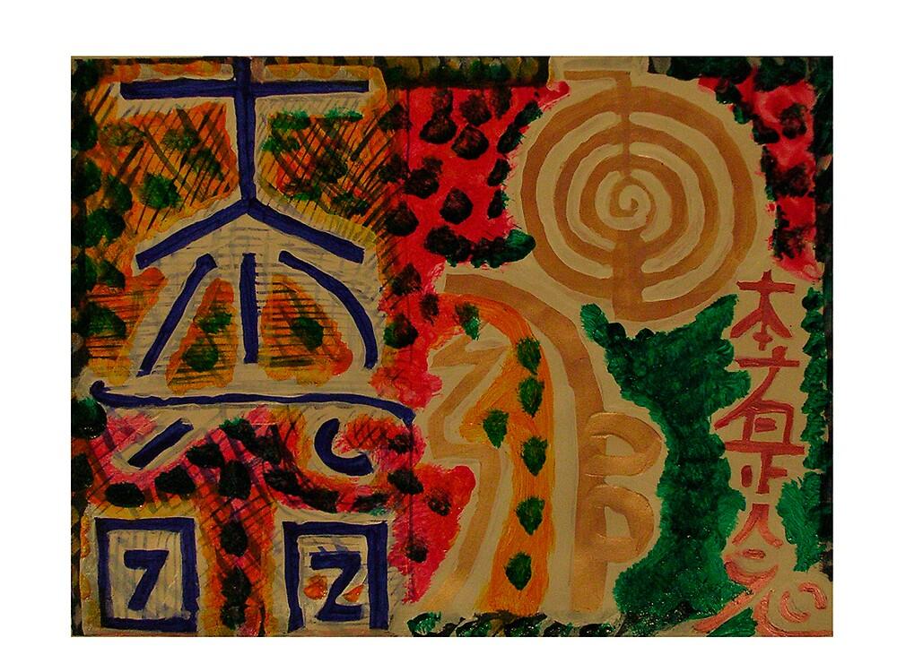 Reiki Main Healing Signs by Chitrakar  by Chitrakar