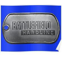 Battlefield Hardline Dogtag Poster