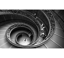 Vatican Stairs Photographic Print