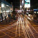 Central crossroad by Elaine Li