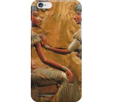 Ancient Egyptian Husband & Wife iPhone Case/Skin