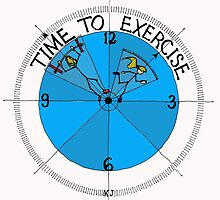 Time To Exercise by kjadesign