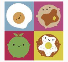 Kawaii Breakfast Kids Tee