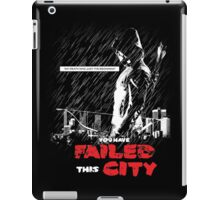 Failed City iPad Case/Skin