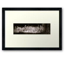An Infra-red Autumn in Gatineau Park Framed Print