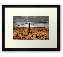 Drought Breakers? Framed Print