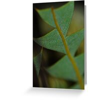 Reptile Plant Greeting Card